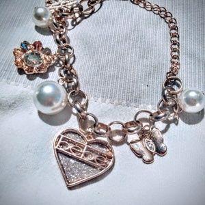 Bebe charm bracelet